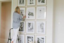 cuadros pared composición