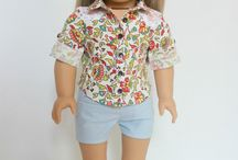 Button-Up Shirt for Dolls