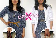 Desafios - Challenges / Criar looks a partir de uma peça de roupa/acessório em destaque. Create outfits having a spotlight. www.elropero.com