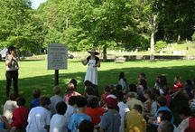 Education  / The Bedford Historical Society offers numerous educational programs for students and the community as they are the greatest tools we have to preserve Bedford's past for the generations to come.