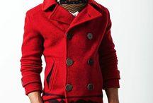 コート 赤