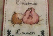 baby's Christmas ornament
