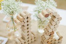 wedding table numbers idea