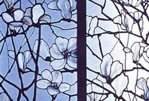 Tiffany stained glass (vidrieras)
