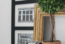 """DESIGN: Vignettes / There's that one wall or corner in your home that's just a blank space. You've always wanted to """"put something"""" there. Here are small decorative montages that can be easily personalized. Mix materials to add visual interest."""