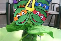 tmnt decor for my baby brother