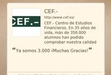 Redes Sociales CEF.- / Síguenos en Linkedin - Facebook - Twitter - Google+ - Youtube