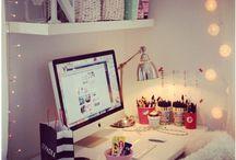 Bedroom ideas / by Maddie Andrews