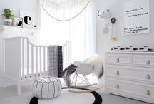 Quarto infantil / Inspirações de móveis, decoração e cores, para criação de um quarto infantil.