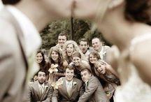 Bridal Party Posing