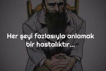 ÖZLÜ DERİN CÜMLELER...