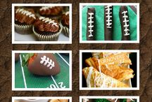 Football/Super Bowl Recipes & Themes