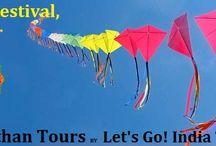 Kite Festival, Jaipur / Read blog on Kite Festival, Jaipur  http://letsgoindiatours.blogspot.in/2016/04/kite-festival-jaipur.html