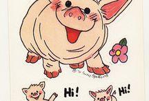 Art - Pigs