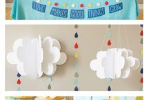 Cloud themed baby shower / by Allison Krahenbuhl