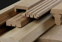 Venables Oak: Bulk Timber Products, machined components / Venables Oak offers a sawn-to-size service for machined components which can be machined to any level of detail specified.