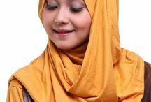 Jilbab instan modern