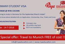 Germany Student Visa Seminar @ Riya Education / Germany Student Visa Seminar @ Riya Education