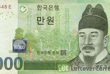 Foreign banknotes / Utenlandske pengesedler