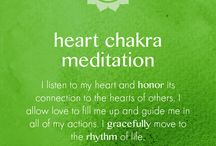 Heart Chakra / Useful resources for healing and supporting the Heart Chakra - it's all about the Love...