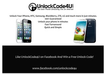Unlock Promotions 4U! / We run monthly promotions on UnlockCode4U! Check out our board for the latest chance to win a free unlock code and much more!