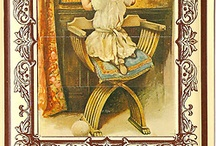 Vintage and Antique Postcards / Selections from my collection of vintage postcards and other ephemera  / by monica kay