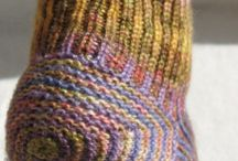 tricky and colorful knitting