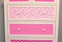 Meble handmade dla dzieci / meble ozdabiane z myślą o dziecięcych pokojach