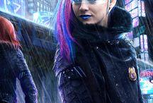 Characters-Cyberpunk