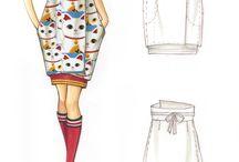 Figurini / Disegno moda