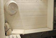 pukuhuone saunatiloihin