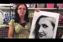 face art quilts
