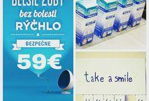 limitka / Limitovaná ponuka pre prvých 30-tich objednaných, darček Clean&White, bieliaca pena na doma v hodnote 17€ Zdarma objednávanie fb/ SMILEPOINT Presov