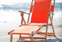 Beach Chairs We Love / We all know not all beach chairs are created equal and a lot fall short with their structural integrity, longevity or even comfortability.  These are some of the best but let us know of more that aren't here.