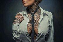 Tattoos / tattooed