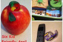 April Fools Day / Kid Friendly April Fools Pranks