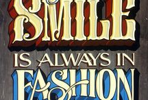 Lettering n Typography / Cool letter combos that float my boat and rock my world...