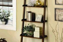 Ladder shelf ideas