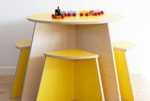 Montesorri room ideas / Furniture wooden kids
