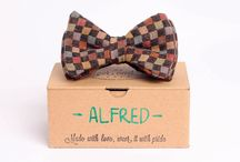 Bow ties / The freshest handmade bow ties in arrowhead or pre-tied style.