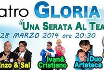 Evento Teatro Gloria Pomigliano D Arco