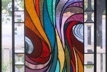 Waves Rainbow Pattern Painting