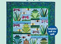 over by the pond / quilt ideas