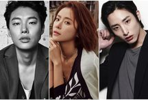 K-actors and actress
