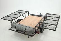 Çekme bagaj trailer