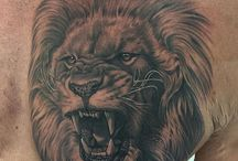 Tetovanie s motívom leva