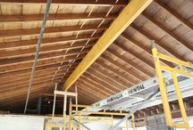 HOME / Vaulted Ceiling Project / Vaulted ceiling with beams