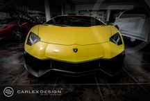 "YELLOW BULL Carlex Design / This ""Yellow Bull"" from Lamborghini stable has been given an internal energy boost shot from Carlex Design.  Carlex Design Aventador: fast, furious, unique...."