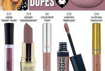 Dupes Makeup
