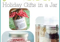 Mason jar gift ideas